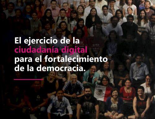 El ejercicio de la ciudadanía digital para el fortalecimiento de la democracia.