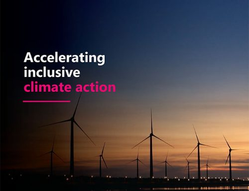 Accelerating inclusive climate action.