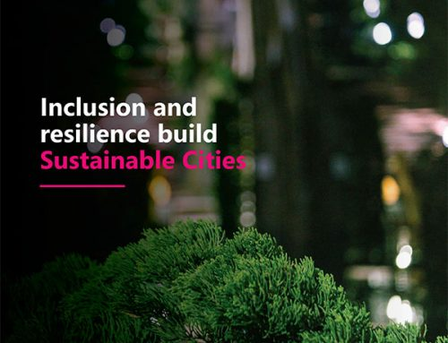 Inclusion and resilience build Sustainable Cities.