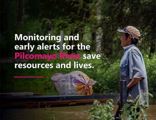 Monitoring and early alerts for the Pilcomayo River save resources and lives.