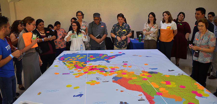 Encuentro de Articulacion Internacional entre Organizaciones de Migrantes y Promigrantes