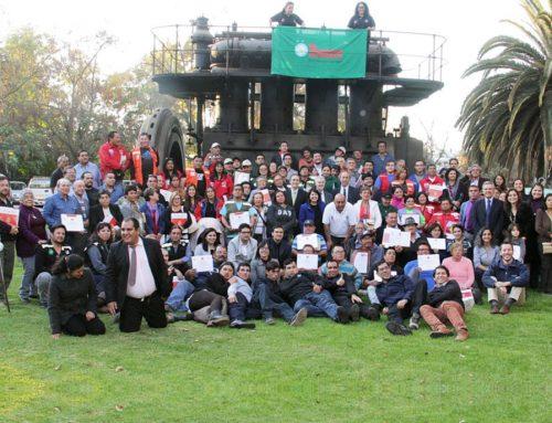 Certifican competencias a 109 Recicladores de base en Chile