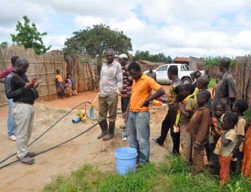 Mozambique: Crean sistema de agua para comunidad de Assumane.